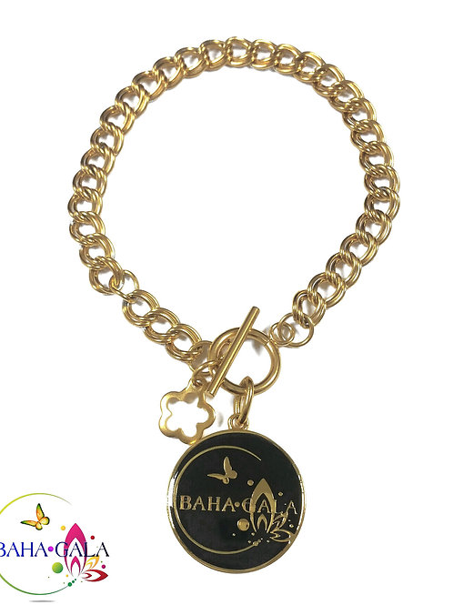 Baha Gala Pendant Charm Bracelet.