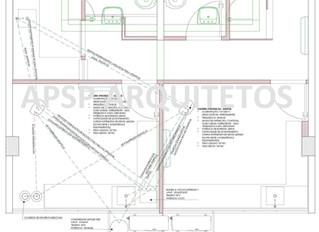 Projeto de Consultório Odontológico - Instalações Elétrica, Hidráulica e de Ar.