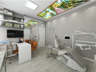 Clínica Odontológica - O que usar no teto?