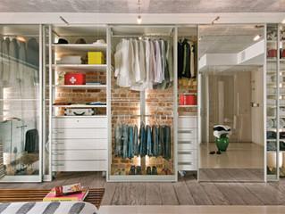 Closet organizado em 7 passos gastando pouco