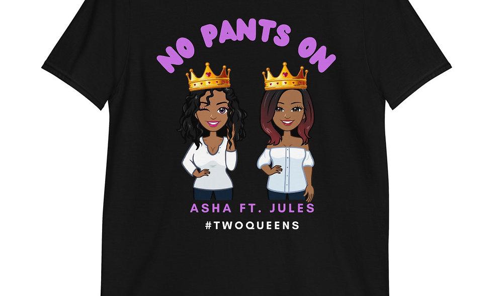 Two Queens Black Tee