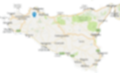 Winery position in sicily