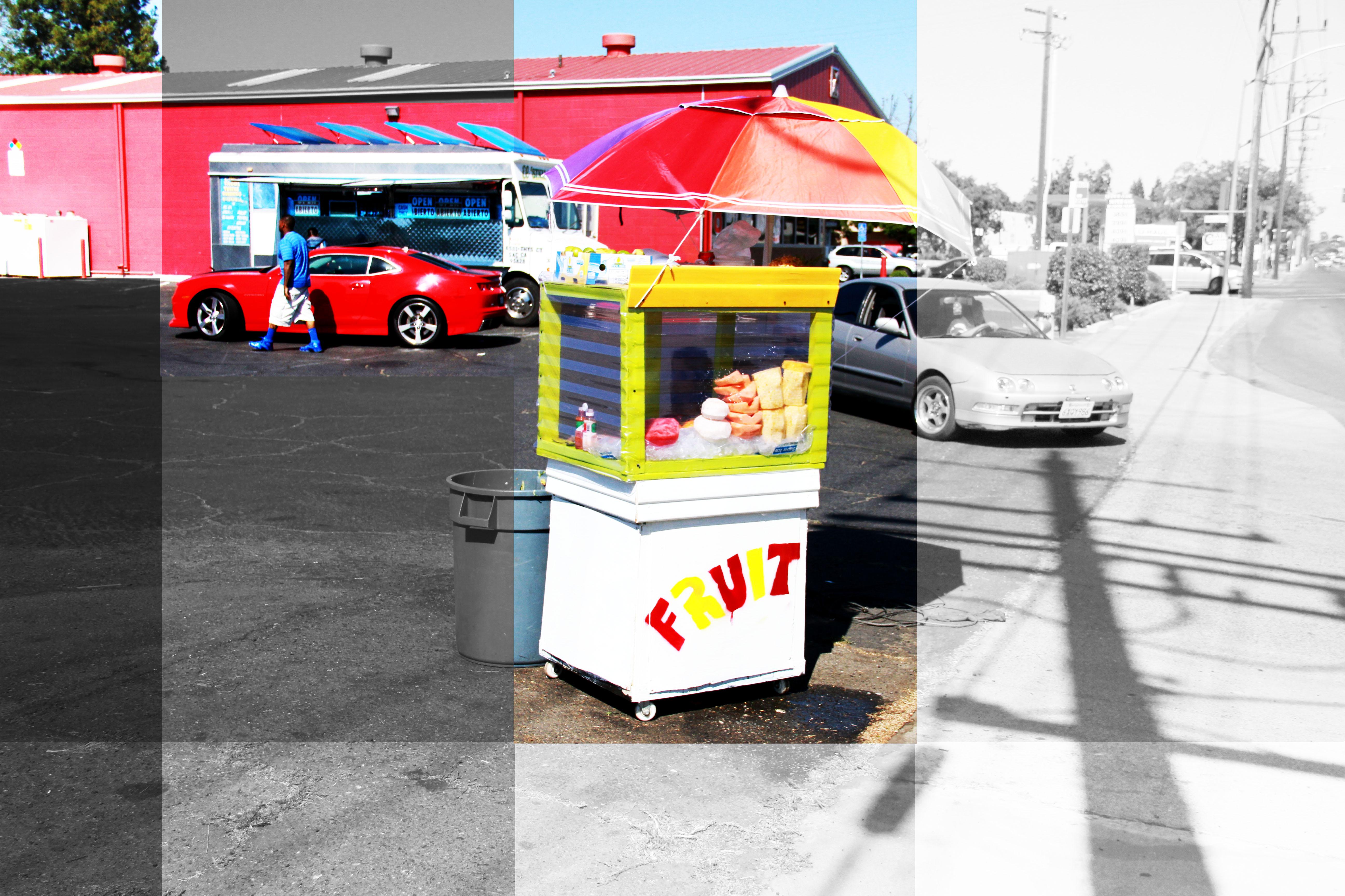 Fruitstand, Sacramento, CA
