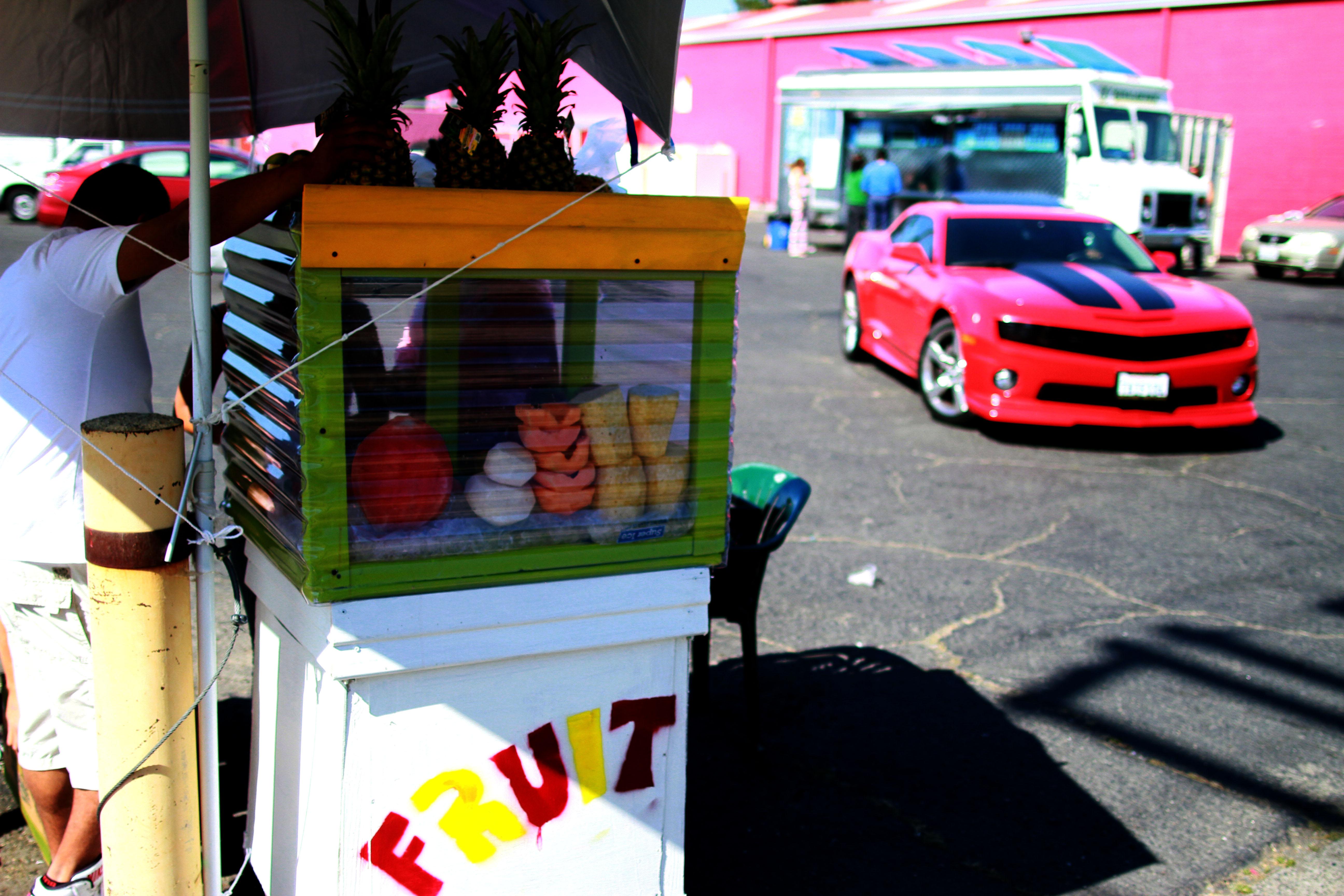 Fruit Stand, Sacramento, California