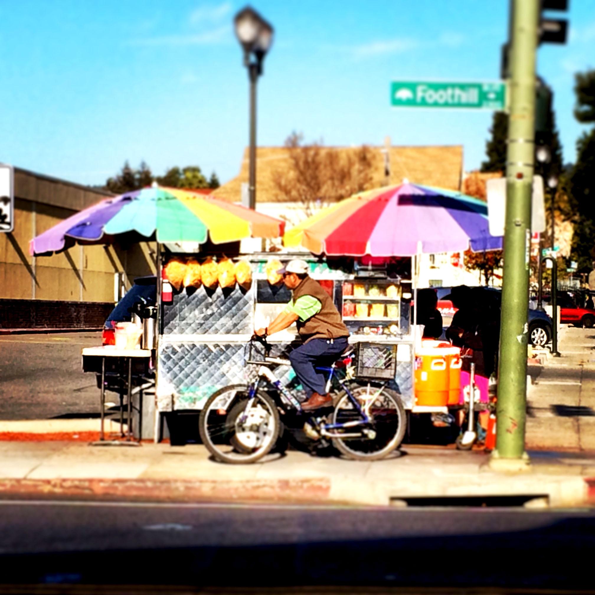 Food Cart, Fruitvale, Oakland, CA