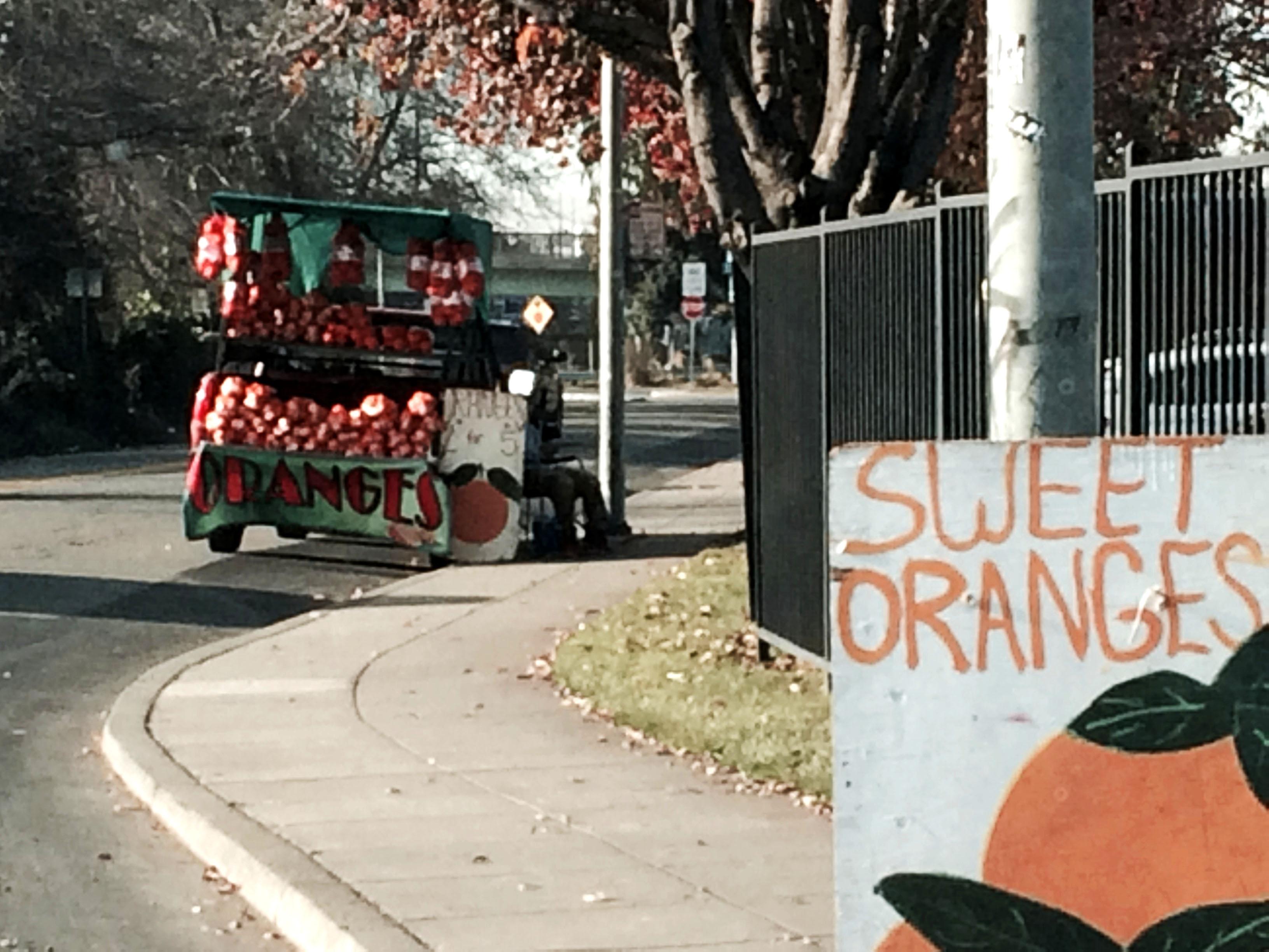 Oranges, Oakland, California