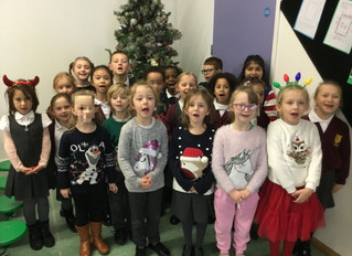 Singing club sing to local care homes