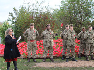 Hamstel Marks Armistice Day with Special Remembrance Ceremony