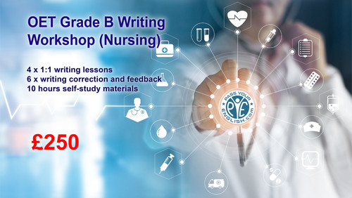 OET Grade B Writing Workshop (Nursing)