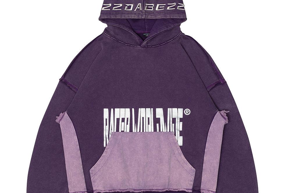 22DABE22 X RacerWorldwide®  Purple Hoodie