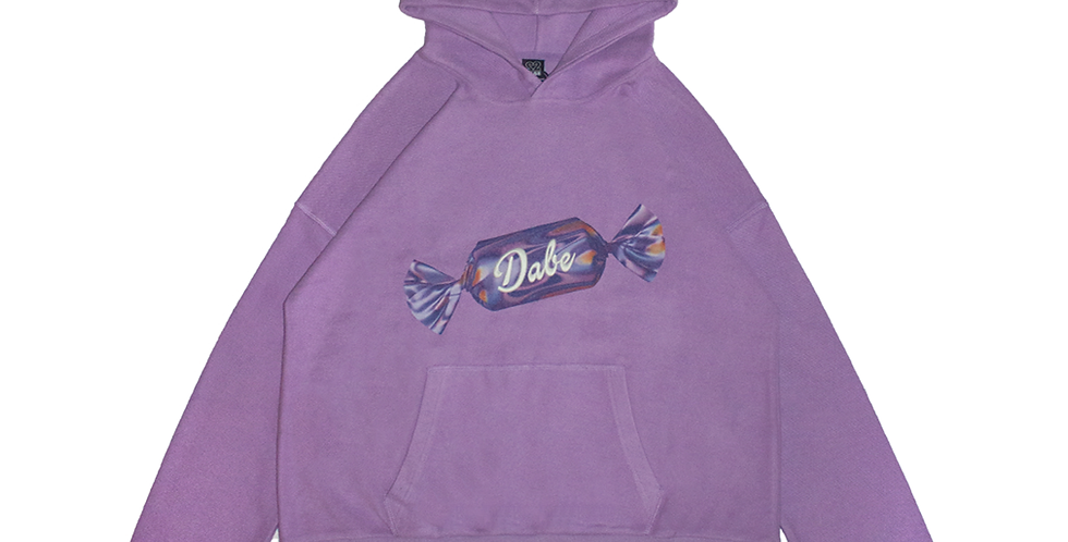 Lavender Dystopic Candy Hoodie