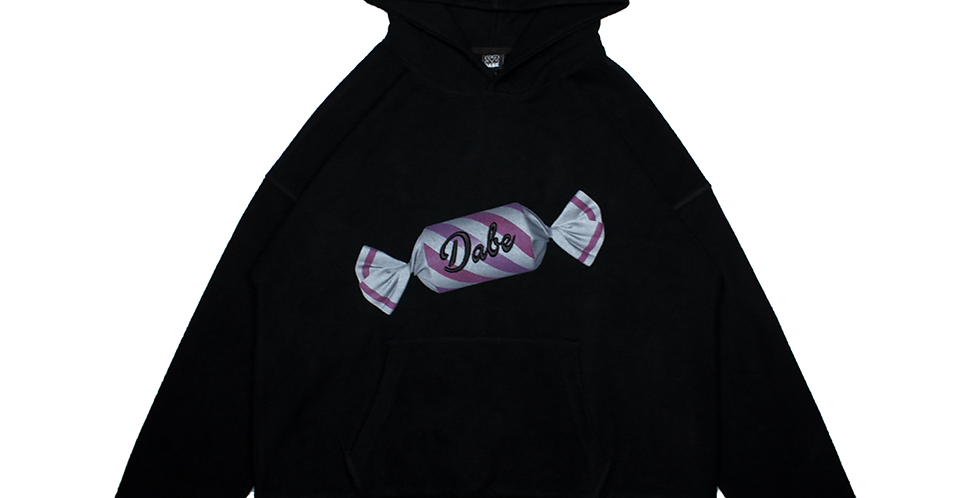 Black Dystopic Candy Hoodie