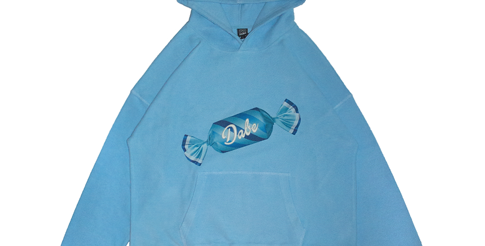 Baby Blue Dystopic Candy Hoodie