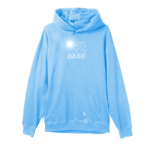 1 YEAR DABE CELEBRATION HOODIE (CAROLINA BLUE)