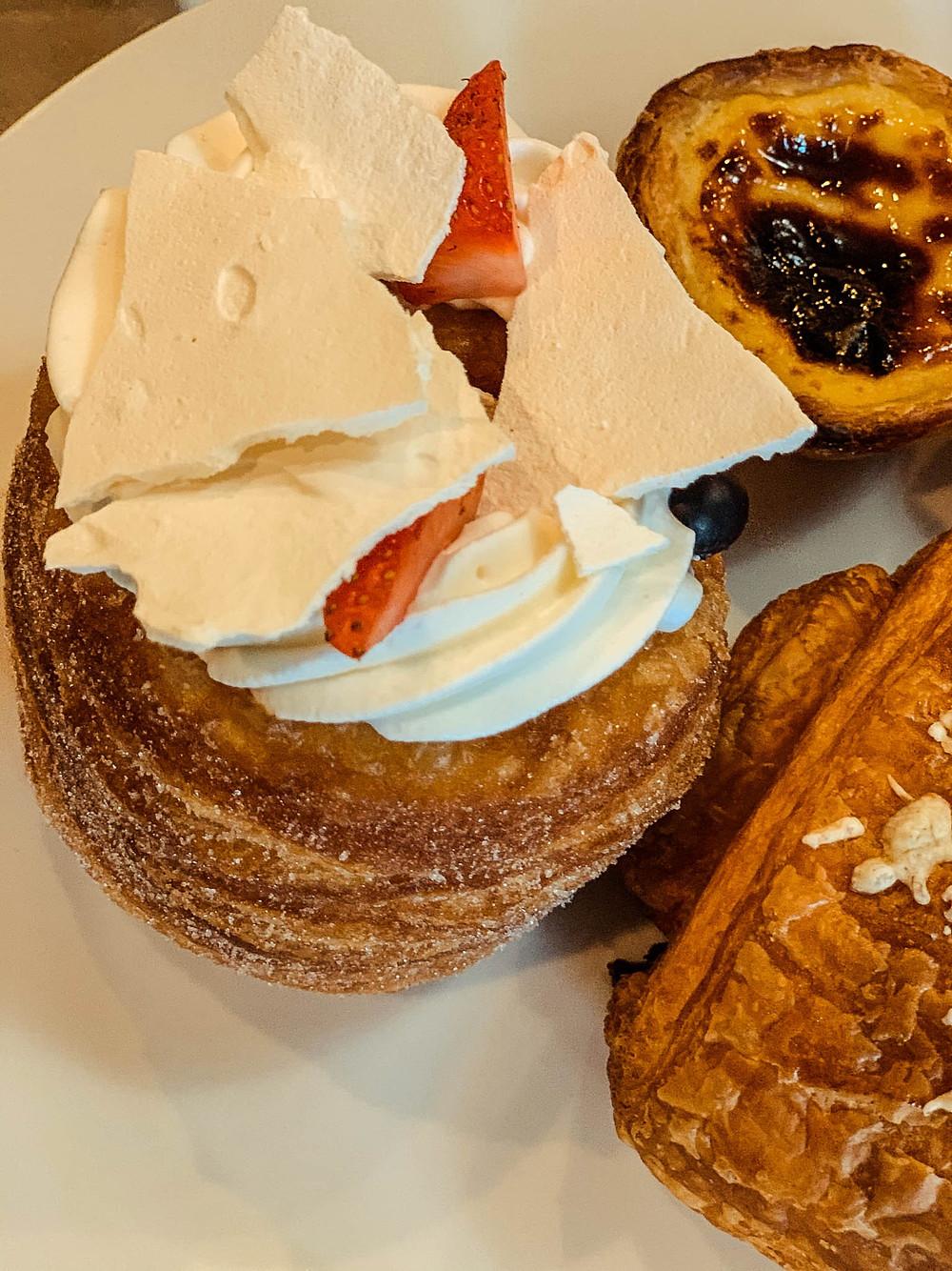 Jason Bakery's famous doughssant