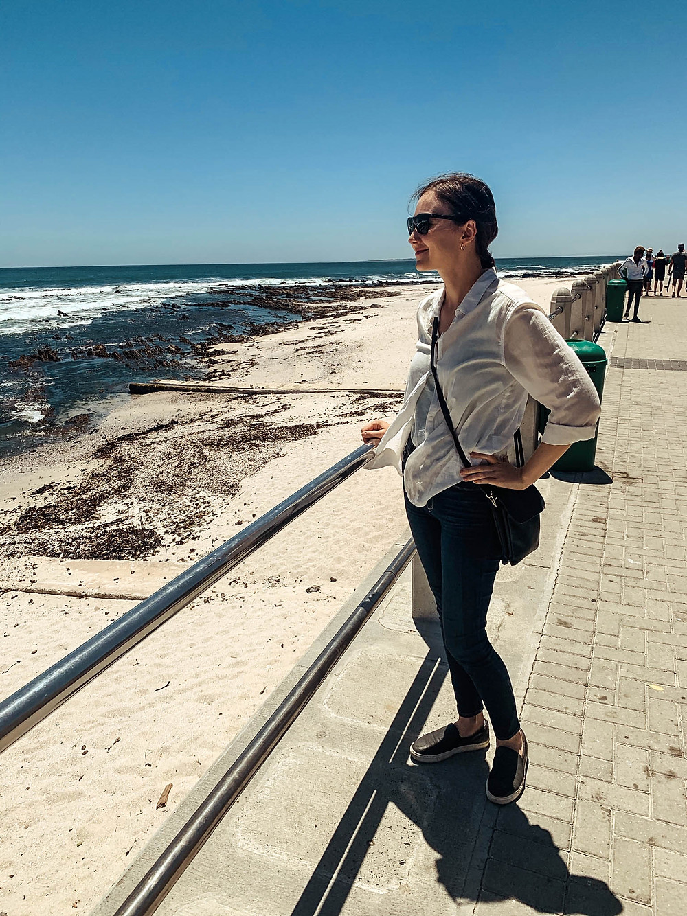Enjoying the Sea Point Promenade - one of Cape Town's best walks!