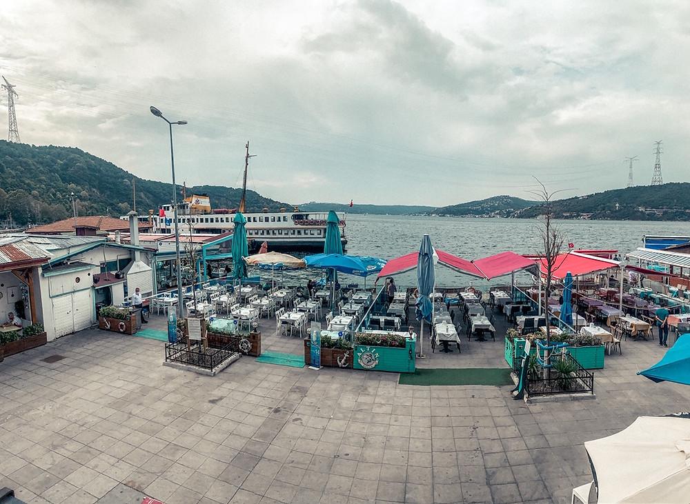 Where the Black Sea and Bosphorus meet