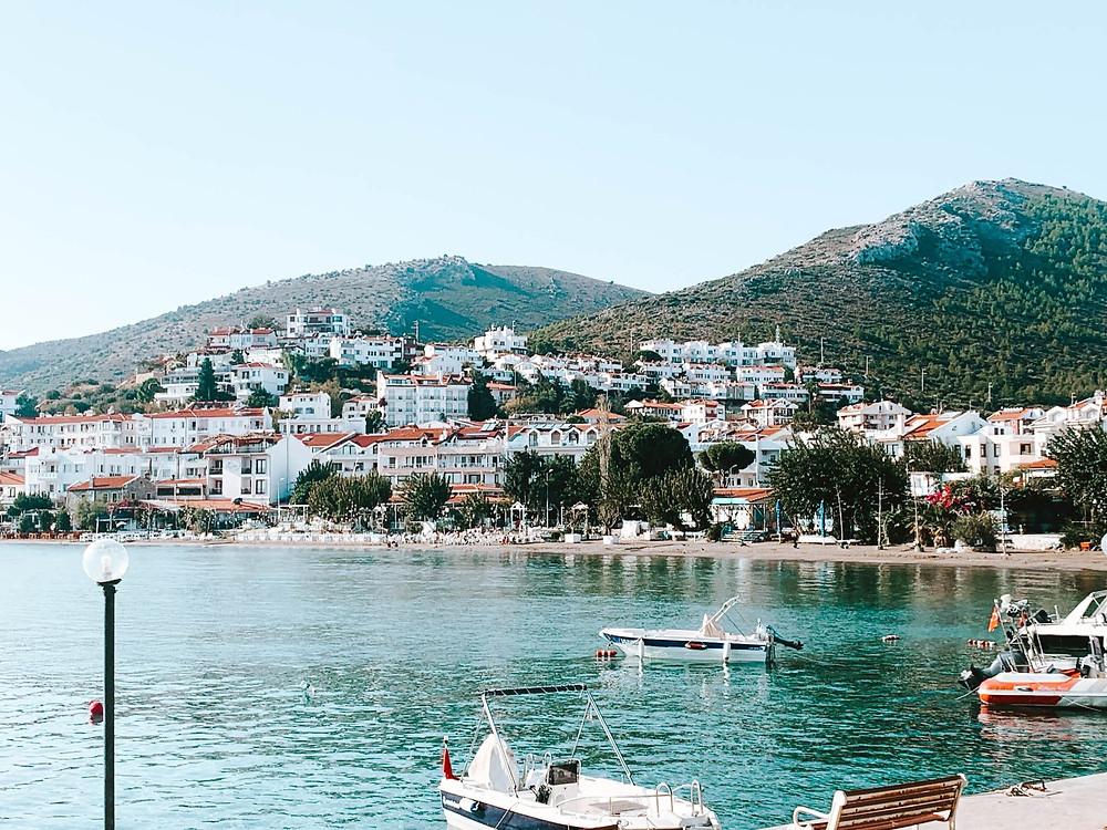 The Datca, Turkey waterfront