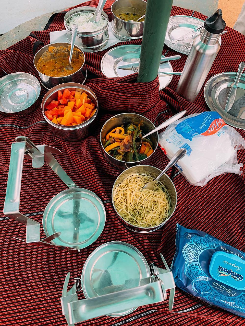 A safari picnic