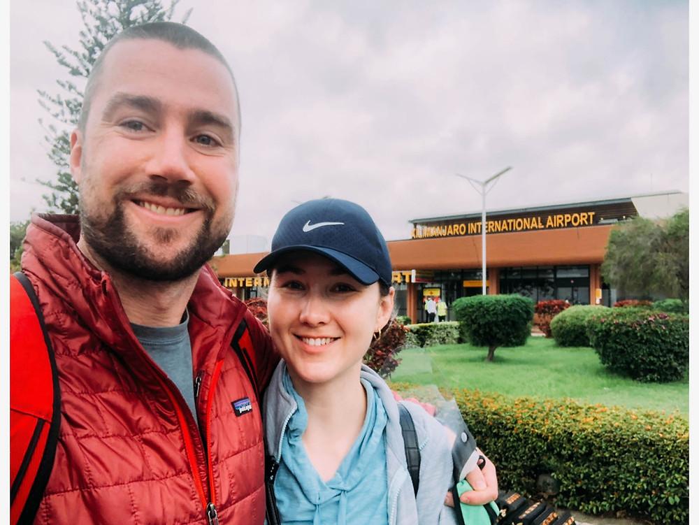 Outside the Kilimanjaro International Airport