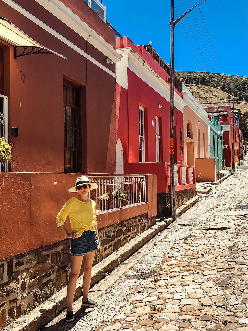 Strolling through the Bo-Kaap side streets