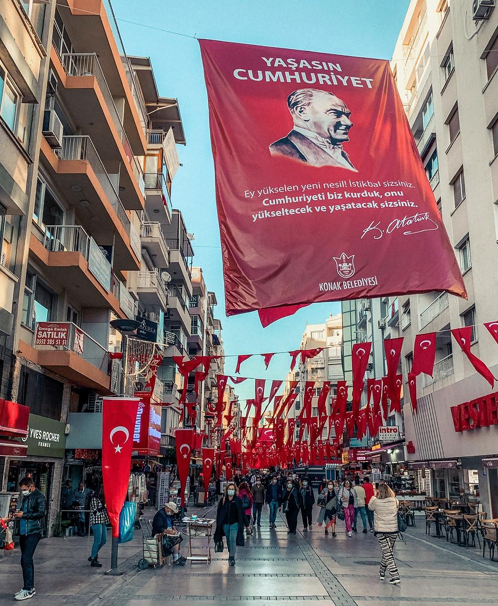 Izmir, embracing its Ataturk pride