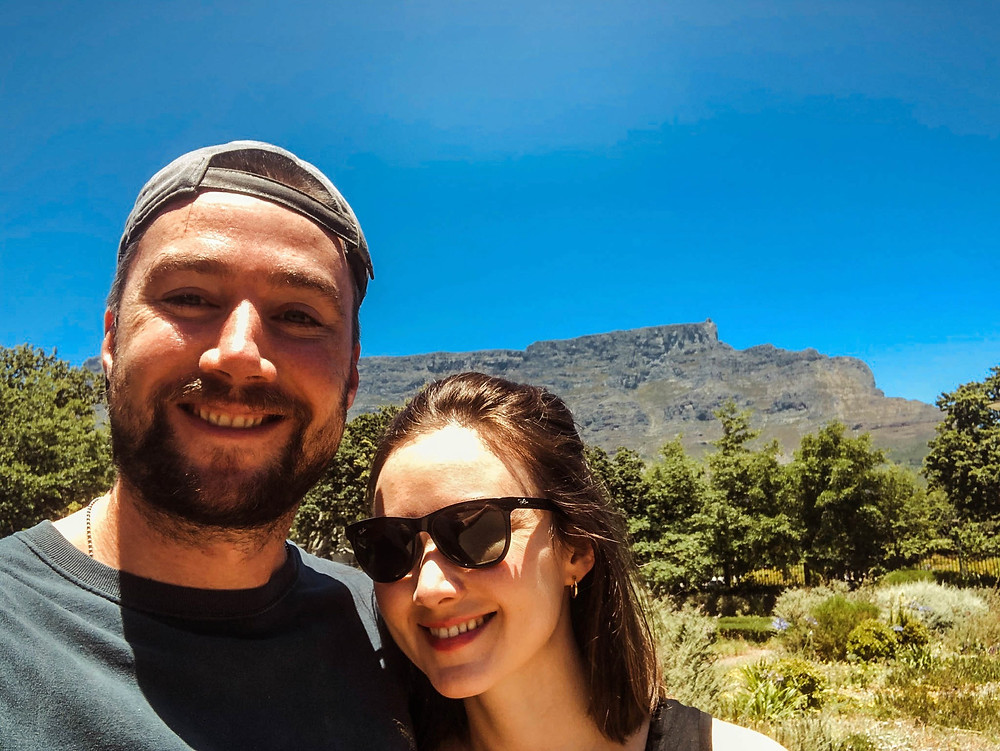 Exploring Cape Town - Table Mountain in the background