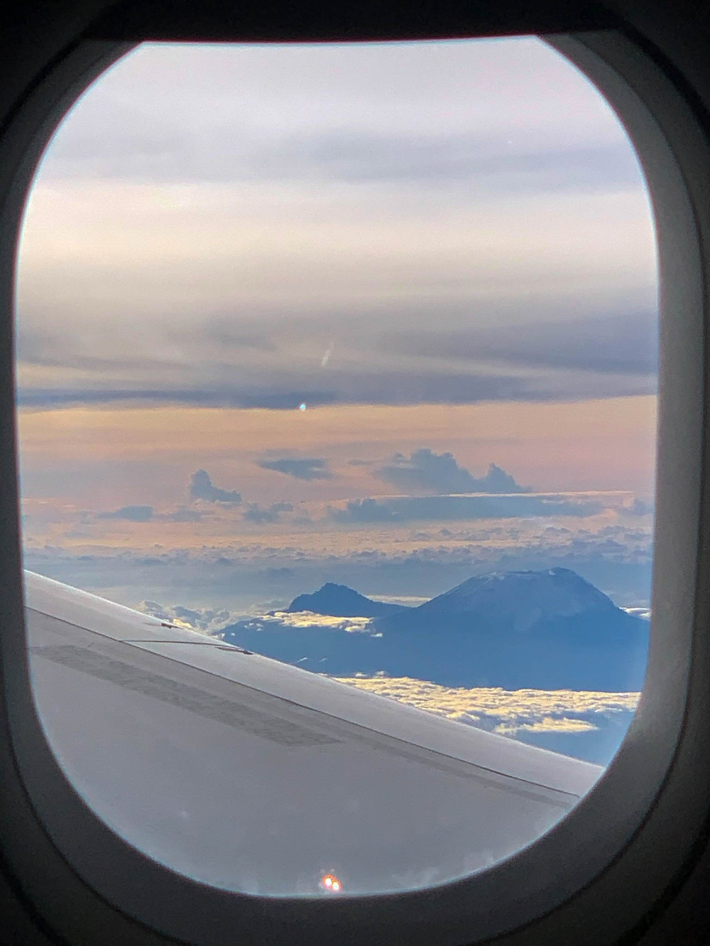 Quite the Kilimanjaro view - beats a hike!