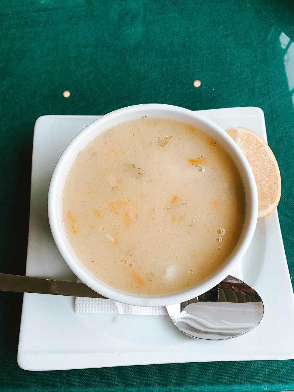 Fish soup - absolutely worth the visit!