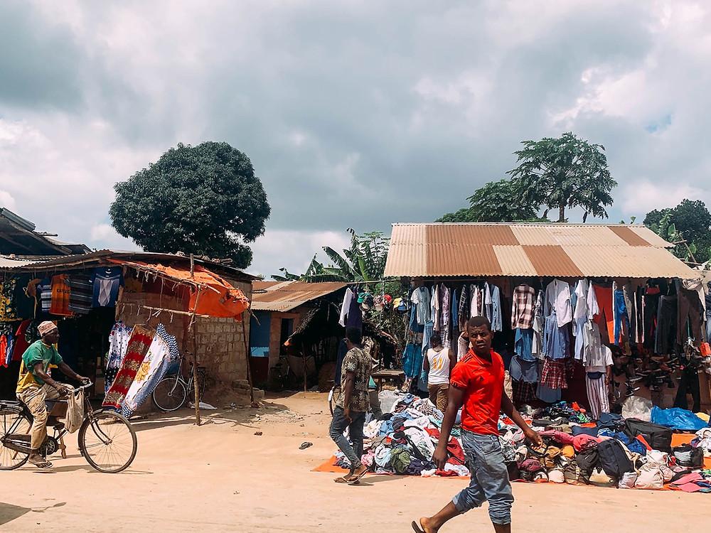 Strolling along Nungwi's street-side markets