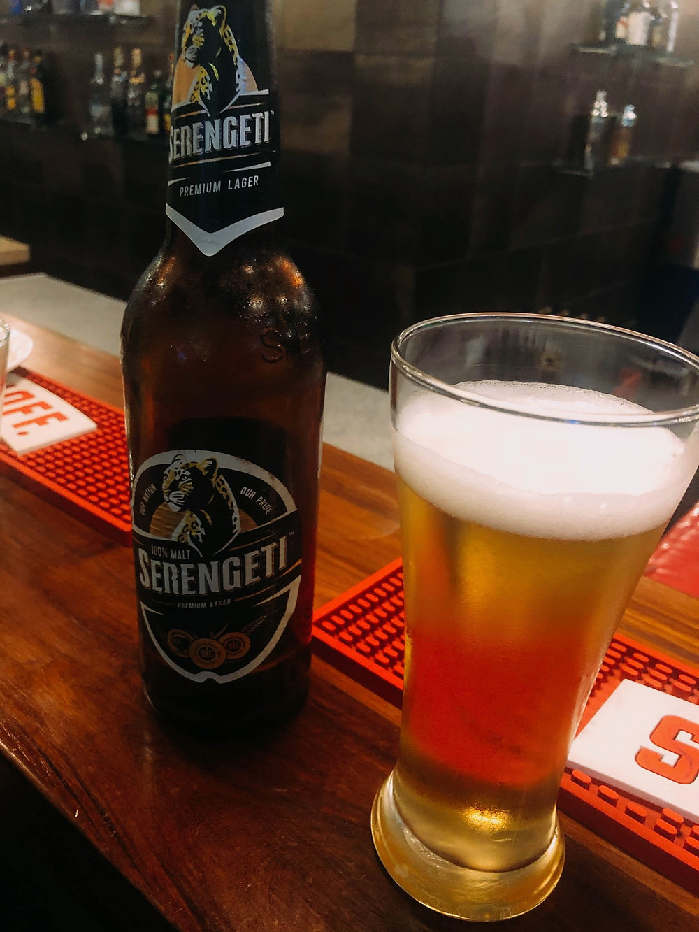 Not a craft brewery, per se, but Serengeti's a great drink in Tanzania!