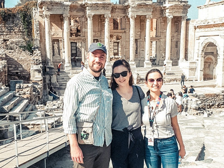 """Touring Ancient Ephesus - Our """"Letter to the Ephesians"""""""
