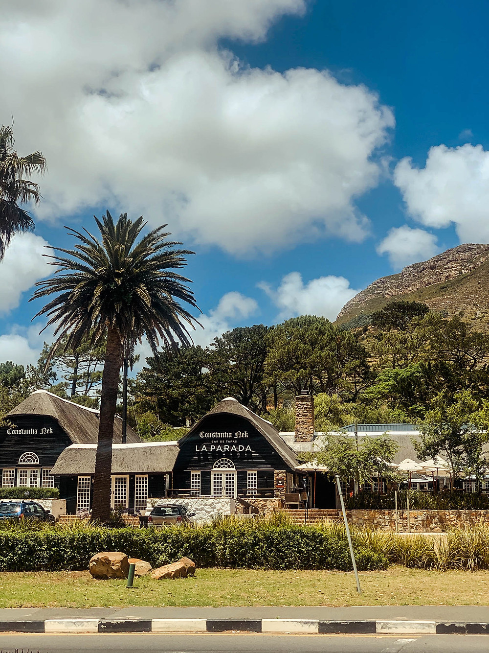 La Parada Constantia Nek - a place for a great Sunday brunch (in normal times...)