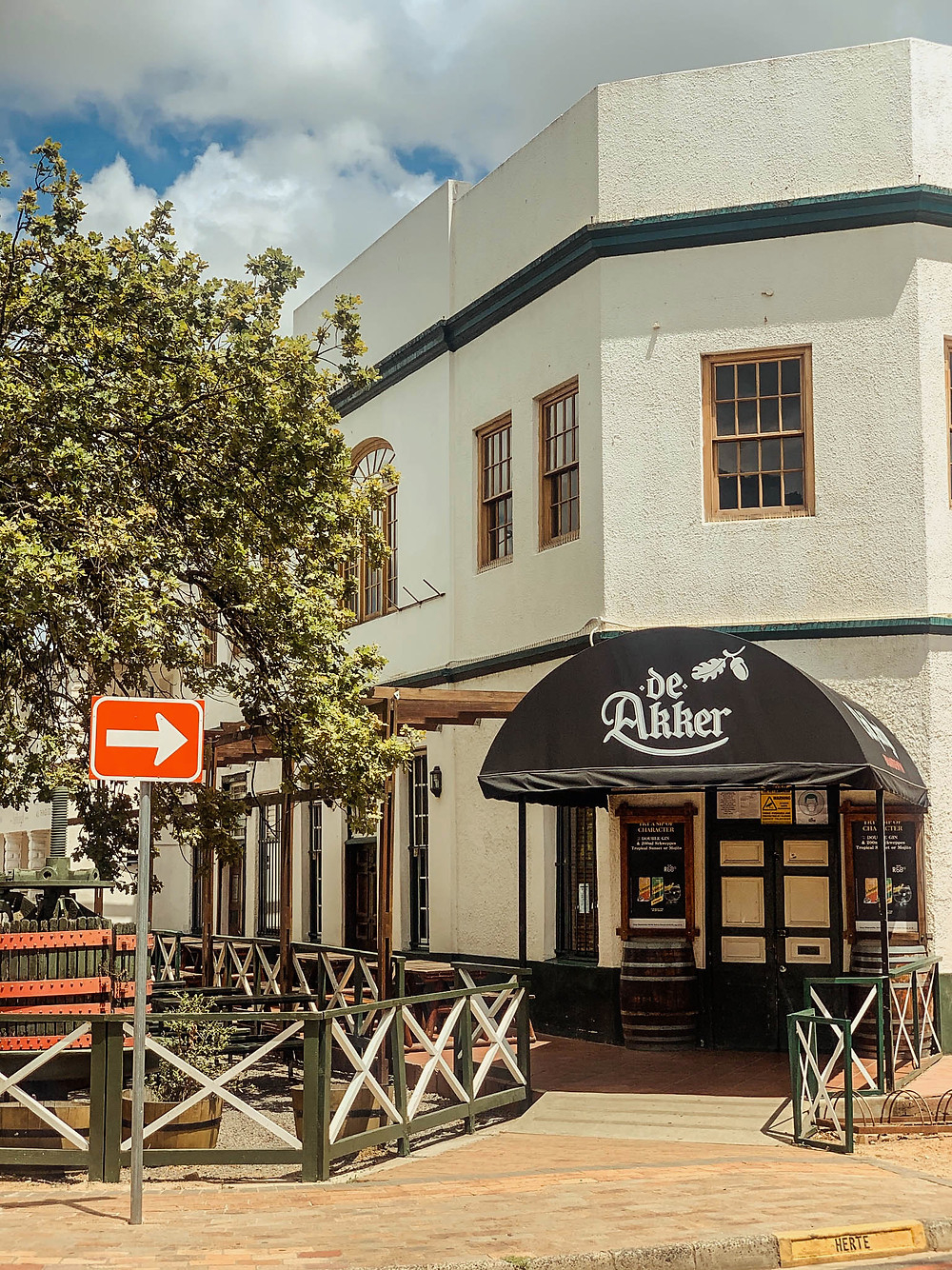 """""""The Acorn"""" - second oldest pub in South Africa"""