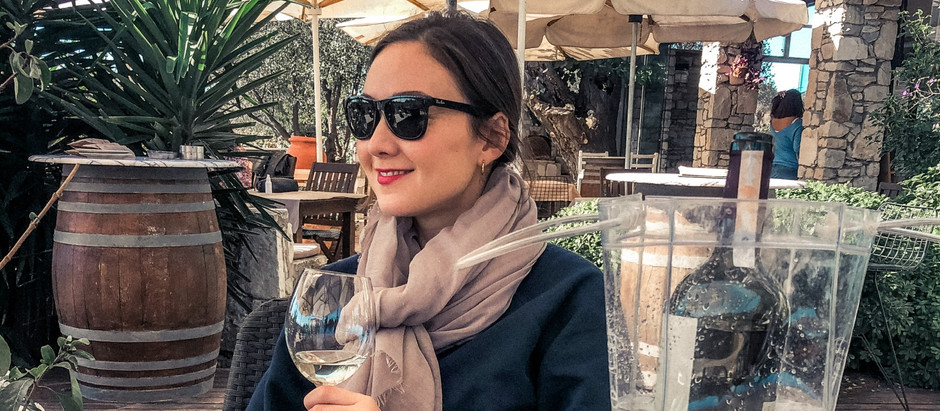 Wine Tasting in Urla - and a Celebrity Cameo