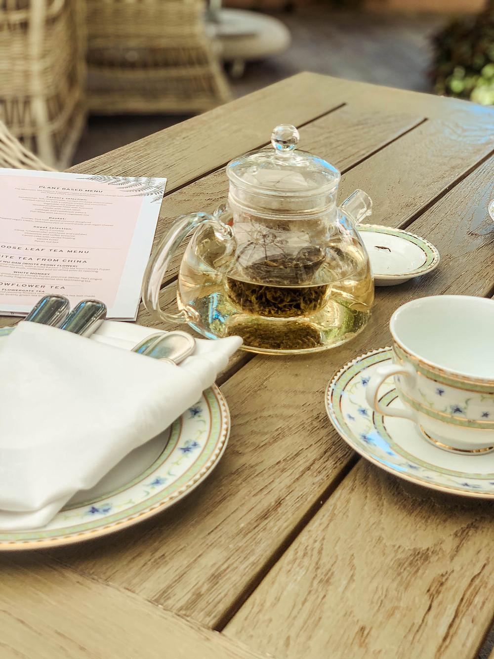 ...vs. waiting for tea!