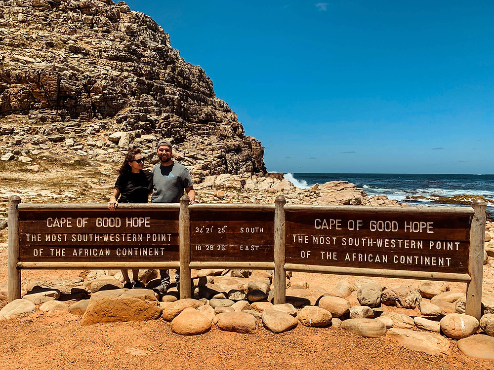 Cape of Good Hope - the most southwestern point of the African continent