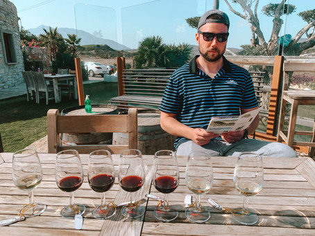 Wine Tasting (Drinking) in Datca