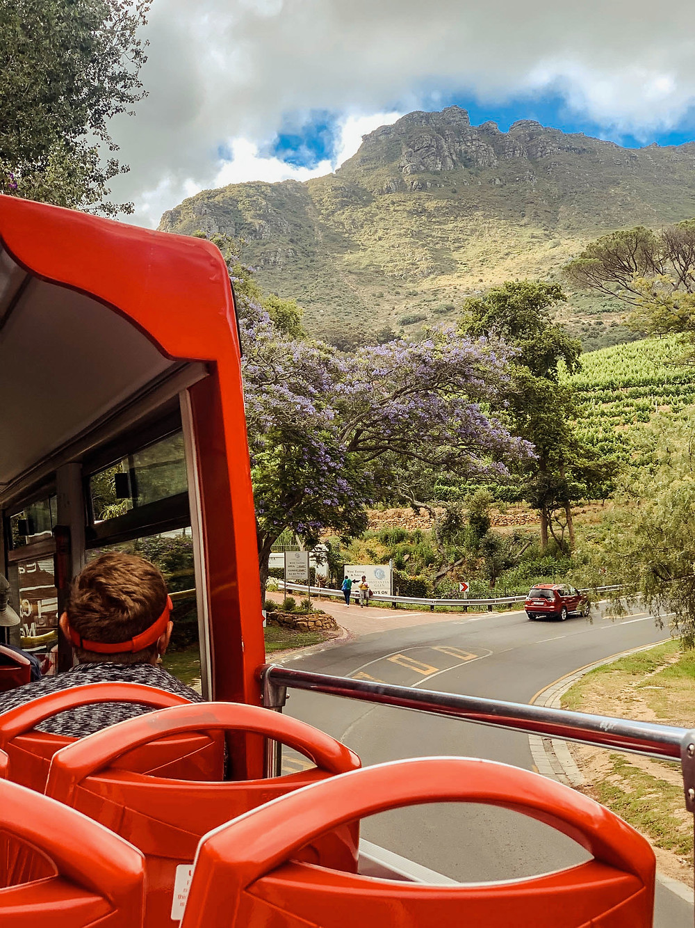 Some stunning bus-top views in Cape Town