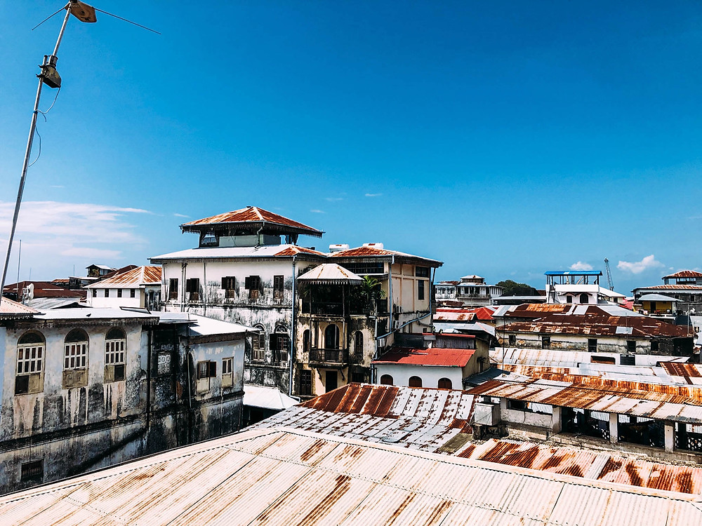 A view over Stone Town's rooftops