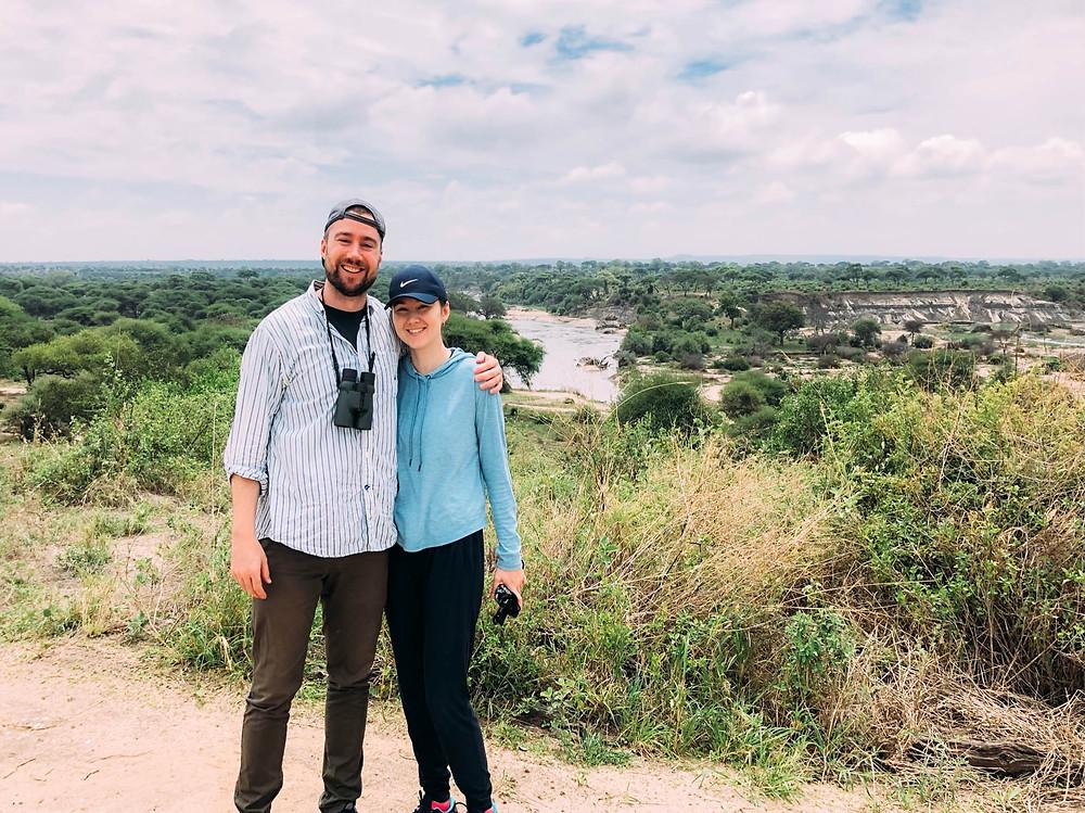 Overlooking the Tarangire River