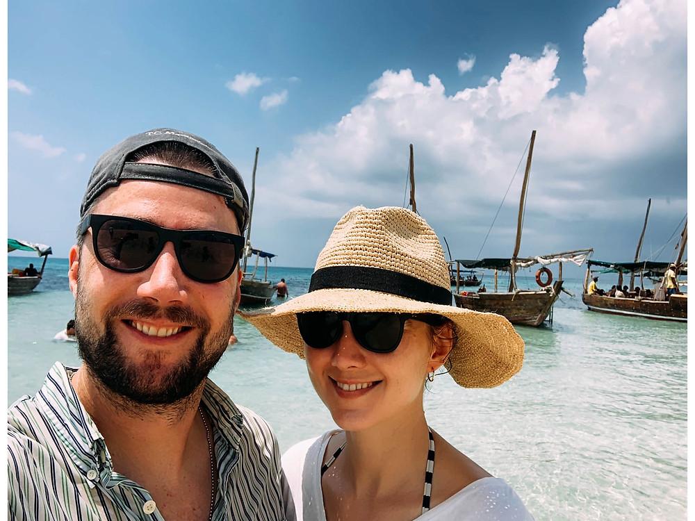 Another quick Safari Blue beach stop
