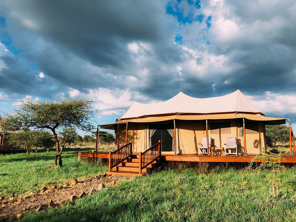 Our home in Serengeti National Park