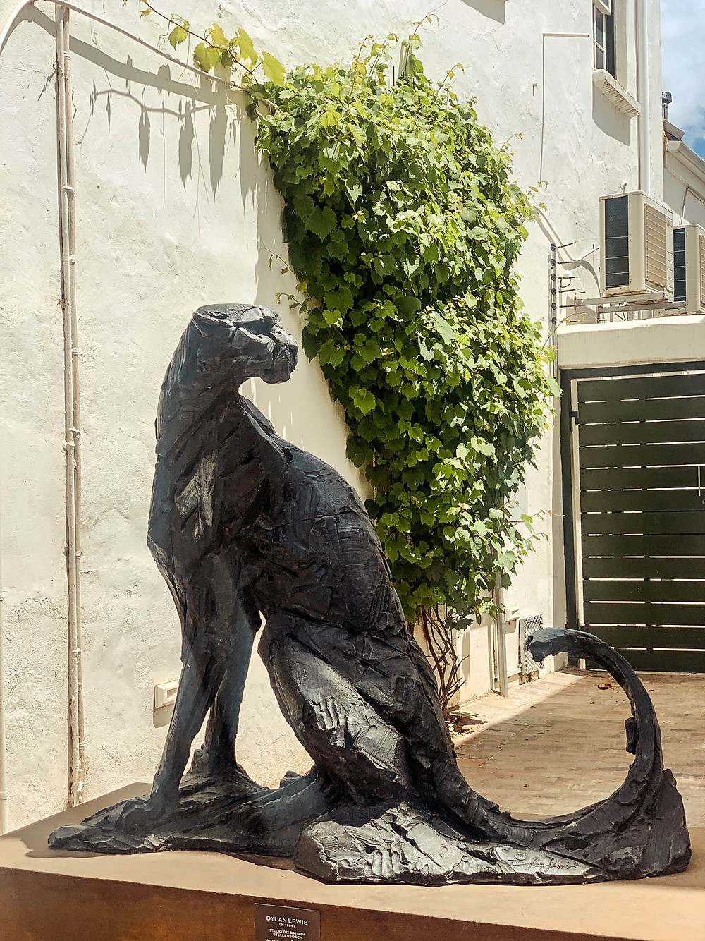 Like wine towns throughout the world, Stellenbosch has tons of art - and art galleries