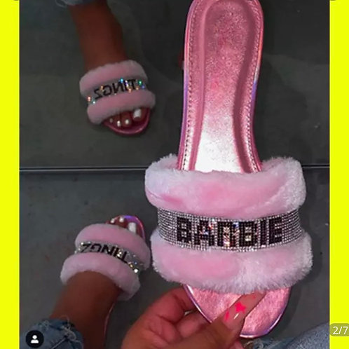 Barbie Ting slippers