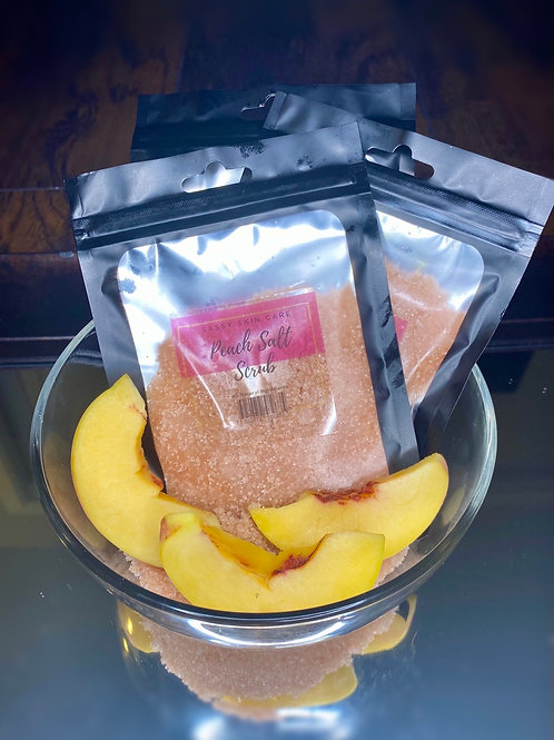 Peach salt scrub wholesale