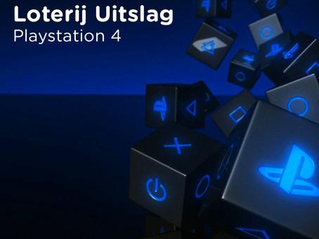 Playstation 4 - Loterij Uitslag