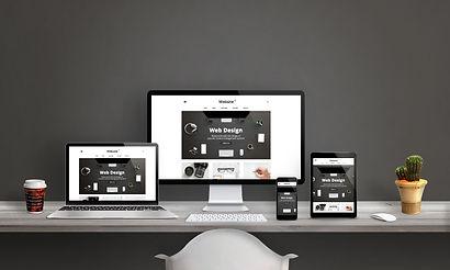 Web design studio with responsive web si