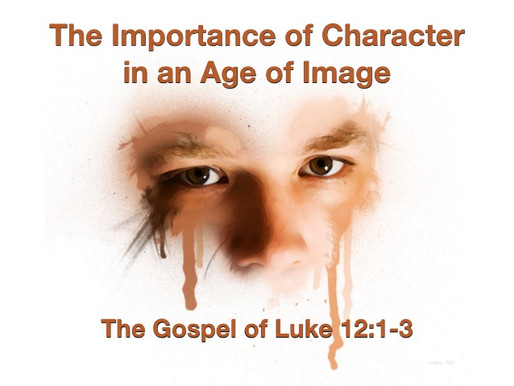 A HOLY GOD & HIS HOLY PEOPLE-CHARACTER VS. IMAGE