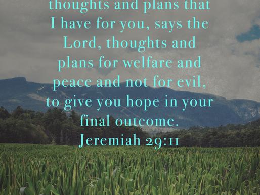 GOD'S PLANS VS OURS